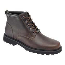 Men's Rockport Northfield Plain Toe Boot Chocolate Full Grain Leather
