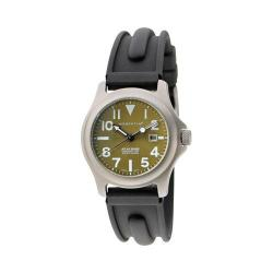 Women's Momentum Watch Atlas TI SLK Rubber Watch Green/Black SLK Rubber
