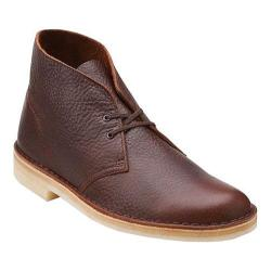 Men's Clarks Desert Boot Brown Tumbled Leather
