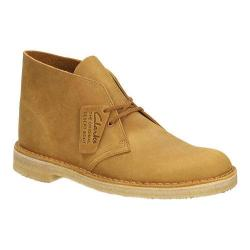 Men's Clarks Desert Boot Mustard Leather