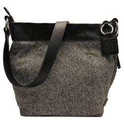 Women's Ellington Paige Wool Cross Body Black/White