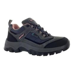 Children's Hi-Tec Hillside Low Waterproof Jr Charcoal/Blush