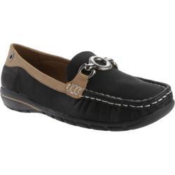 Women's Beacon Shoes Captiva Loafer Black Lamy Polyurethane