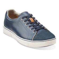 Men's Clarks Ballof Walk Dark Blue Leather