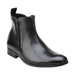 Men's Clarks Banfield Zip Black Leather
