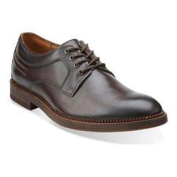 Men's Clarks Bushwick Dale Dark Brown Leather