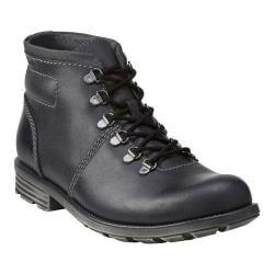 Men's Clarks Darian Heath Boot Black Leather
