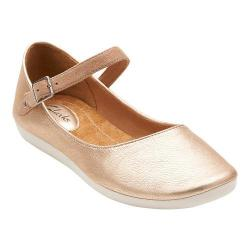 Women's Clarks Feature Film Metallic Leather