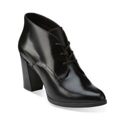 Women's Clarks Kadri Alexa Bootie Black Leather