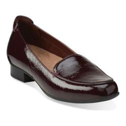 Women's Clarks Keesha Luca Loafer Burgundy Leather