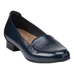 Women's Clarks Keesha Luca Loafer Navy Leather