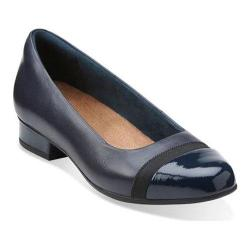 Women's Clarks Keesha Rosa Slip-On Navy Leather
