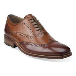 Men's Clarks Penton Limit Tan Combination Leather