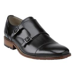 Men's Clarks Penton Monk Black Leather