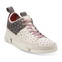 Women's Clarks Trigenic Flex Grey/White Nubuck