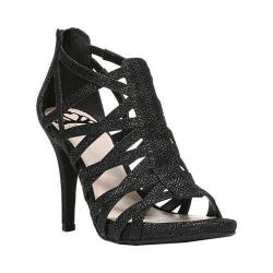 Women's Fergalicious Hattie Sandal Black Fabric