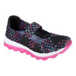 Girls' Skechers Skech Air Hi Bounce Mary Jane Black/Multi