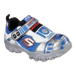 Boys' Skechers Star Wars Damager III Artoo Detoo Sneaker Silver/Blue