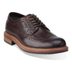 Men's Clarks Darby Limit Gore-Tex Dark Brown Leather