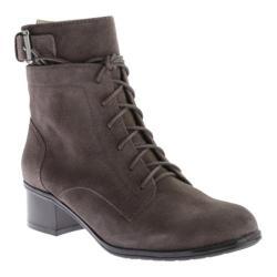 Women's Bandolino Cloviis Ankle Boot Dark Taupe Suede