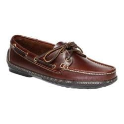 Men's Handsewn Company Boat Driver Shoe Dark Brown Leather
