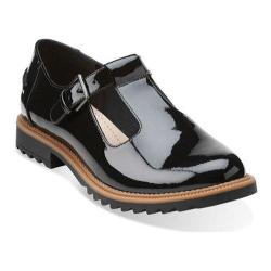 Women's Clarks Griffin Monty Black Patent Leather