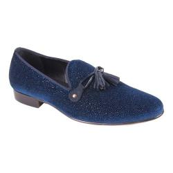 Men's Giovanni Marquez 6305 Lampo Tassel Slip-On Blue Leather