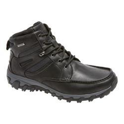 Men's Rockport Cold Springs Plus Moc Toe Boot Black Leather