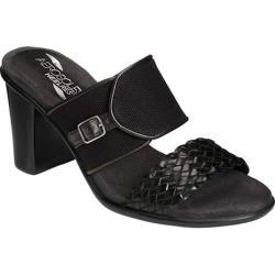 Women's Aerosoles Day Dream Slide Black Faux Leather