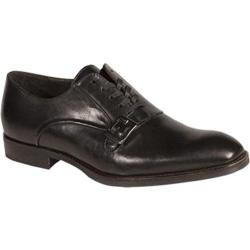 Men's Bacco Bucci Baku Oxford Black Calfskin