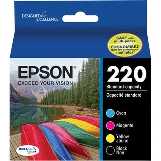 Epson DURABrite Ultra Ink 220 Ink Cartridge - Black, Cyan, Magenta, Y