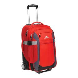 High Sierra 22in Wheeled Upright 59583 Red/Mercury/Black/Ash