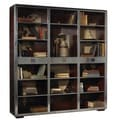 French Heritage Ferault Cherry Steel Bookcase