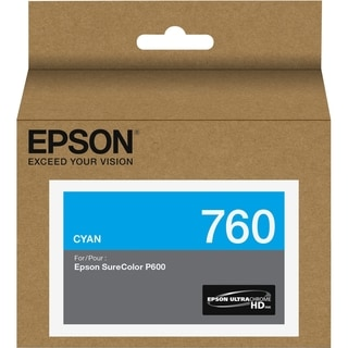 Epson UltraChrome HD T760 Ink Cartridge - Cyan
