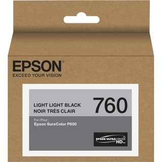 Epson UltraChrome HD T760 Ink Cartridge - Light Light Black