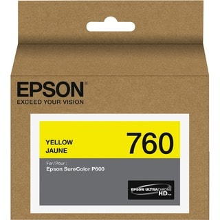 Epson UltraChrome HD Ink Cartridge - Yellow