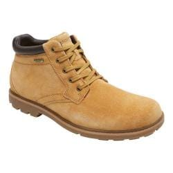 Men's Rockport Rugged Bucks Waterproof Boot Wheat Nubuck
