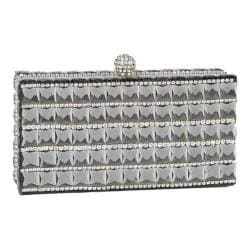 Women's J. Furmani 62014 Crystal Box Clutch Gold