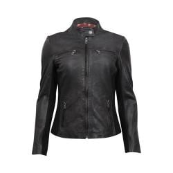Women's Durango Boot Damsel Jacket Black Leather