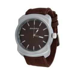 Dickies Slick Rick Canvas Band Watch Brown
