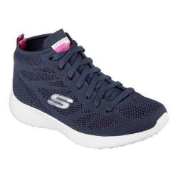 Women's Skechers Burst Divergent High Top Navy