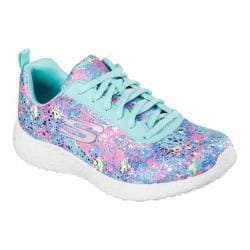 Women's Skechers Burst Illuminations Lace Up Turquoise/Multi
