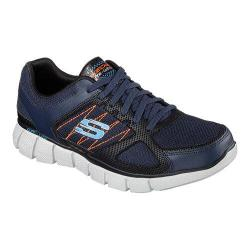 Men's Skechers Equalizer 2.0 On Track Navy/Orange