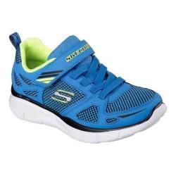 Boys' Skechers Equalizer Quick Race Sneaker Blue/Black