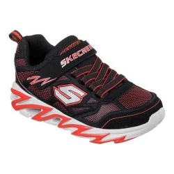 Boys' Skechers Fast Volt Anvil Sneaker Black/Red