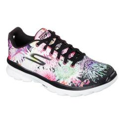 Women's Skechers GOfit TR Bay Rose Lace Up Black/Multi