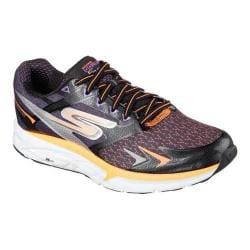 Men's Skechers GOrun Forza Lace Up Black/Orange