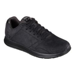 Men's Skechers GOwalk City Retain Lace Up Black