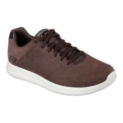 Men's Skechers GOwalk City Retain Lace Up Chocolate