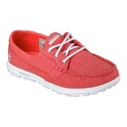 Women's Skechers On the GO Mist Boat Shoe Red